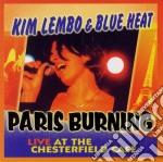 Paris burning cd musicale di Kim lembo & blue heat