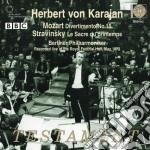 Strawinsky & Mozart - Le Sacre Du Printemps/Div cd musicale di Karajan Von