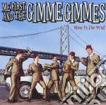 BLOW IN THE WIND cd musicale di ME FIRST & THE GIMME GIMMES