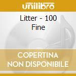 $ 100 fine cd musicale di Litter