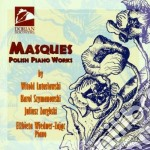 Masques: polish piano works cd musicale di Witold Lutoslawski