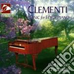 Music for fortepiano cd musicale di Muzio Clementi