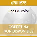 Lines & color cd musicale di Book Kissing