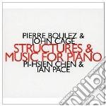 Structures cd musicale di Pierre Boulez