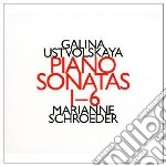 SONATE PER PIANOFORTE (NN.1-6)            cd musicale di Galina Ustvolskaya