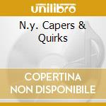 N.Y. CAPERS & QUIRKS                      cd musicale di STEVE LACY THREE