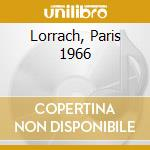 LORRACH, PARIS 1966                       cd musicale di AYLER ALBERT QUINTET