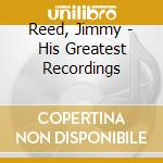 His greatest recordings cd musicale di Jimmy Reed