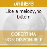 Like a melody,no bittern cd musicale di Bob Ostertag