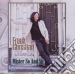 Mister so and so - cd musicale di Christian Frank