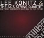 Play french impressionist - konitz lee cd musicale di Lee konitz & axis string 4tet