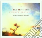 Summer sketches - cd musicale di Bill mays trio
