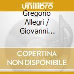Miserere cd musicale di Gregorio Allegri