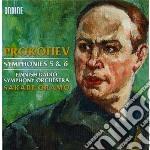 Sinfonia n.5 op.100, sinfonia n.6 op.111 cd musicale di Sergei Prokofiev