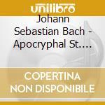 La passione di s.luca apocrifa cd musicale di Bach