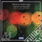 For samuel beckett cd musicale di Morton Feldman