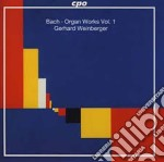 Bach:organ Works Vol 01 cd musicale di Bach