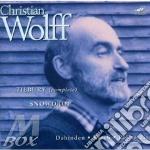 Wolff, C. - Tilbury 1-5/snowdrop cd musicale di Christian Wolff