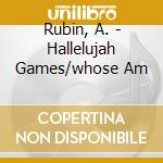 Amy rubin hallelujah gam. - cd musicale di Amy rubin/musicians accord