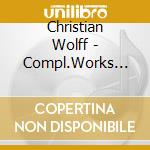 Compl.works violin/piano cd musicale di Christian Wolff