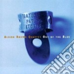 Out of the blue - cd musicale di Alison brown quartet