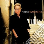 Paul Brady - Say What You Feel cd musicale di BRADY PAUL