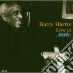 Live at dug cd musicale di Barry Harris