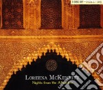 NIGHTS FROM THE ALHAMB+DVD  (BOX 2 CD + DVD) cd musicale di Loreena Mckennitt