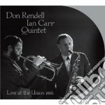 LIVE AT THE UNION 1966                    cd musicale di Don rendell & ian carr