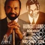 Remembers nat king cole cd musicale di Hubert Laws