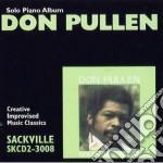 Solo piano album cd musicale di Pullen Don