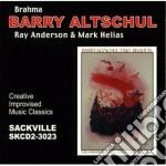 Barry Altschul - Brahma cd musicale di Altschul Barry