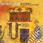 Miniatures (armenia) cd musicale di Dabaghyan Gevorg