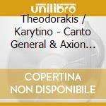 Canto general,axion esti/+ cd musicale di Artisti Vari