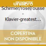KLAVIER(PIANO)-GREATEST SOLO WORKS cd musicale di ARTISTI VARI