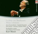 BEETHOVEN/MISSA SOLEMNIS/MASUR cd musicale di Artisti Vari