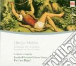 Mahler - Sinfonie Nr.4 - Casapietra/rsol/kege cd musicale di Artisti Vari