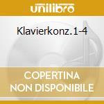 Klavierkonz.1-4 cd musicale di Artisti Vari