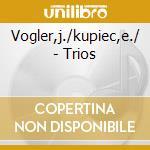 BRAHMS/BEETHOVEN/WIDMANN  TRIO cd musicale di Artisti Vari