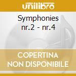 Symphonies nr.2 - nr.4 cd musicale