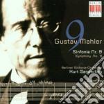 Mahler - Sinfonie Nr. 9 - Bso/Sanderling cd musicale di Artisti Vari