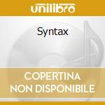 Syntax cd musicale