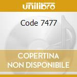 Code 7477 cd musicale