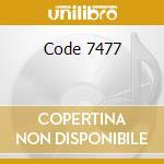 Code 7477 cd musicale