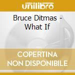 What if - ditmas bruce abercrombie john bley paul cd musicale di Ditmas Bruce