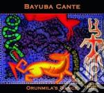Orunmila's dance cd musicale di Cante Bayuba
