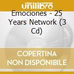 Emociones - 25 Years Network cd musicale di Artisti Vari