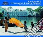 Rajasthan / music from the desert cd musicale di 34 - kohinoor langa