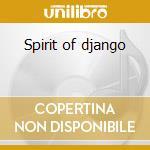 Spirit of django cd musicale di Martin Taylor