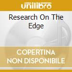 RESEARCH ON THE EDGE                      cd musicale di WHITECAGE MARK